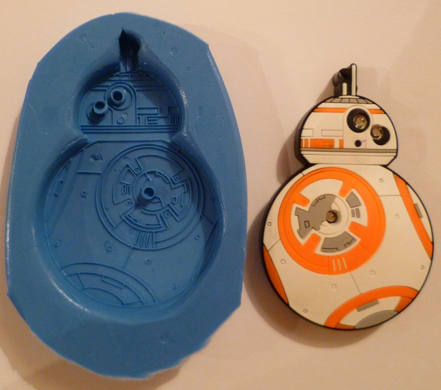 STAR WARS BB8 SILICONE MOULD