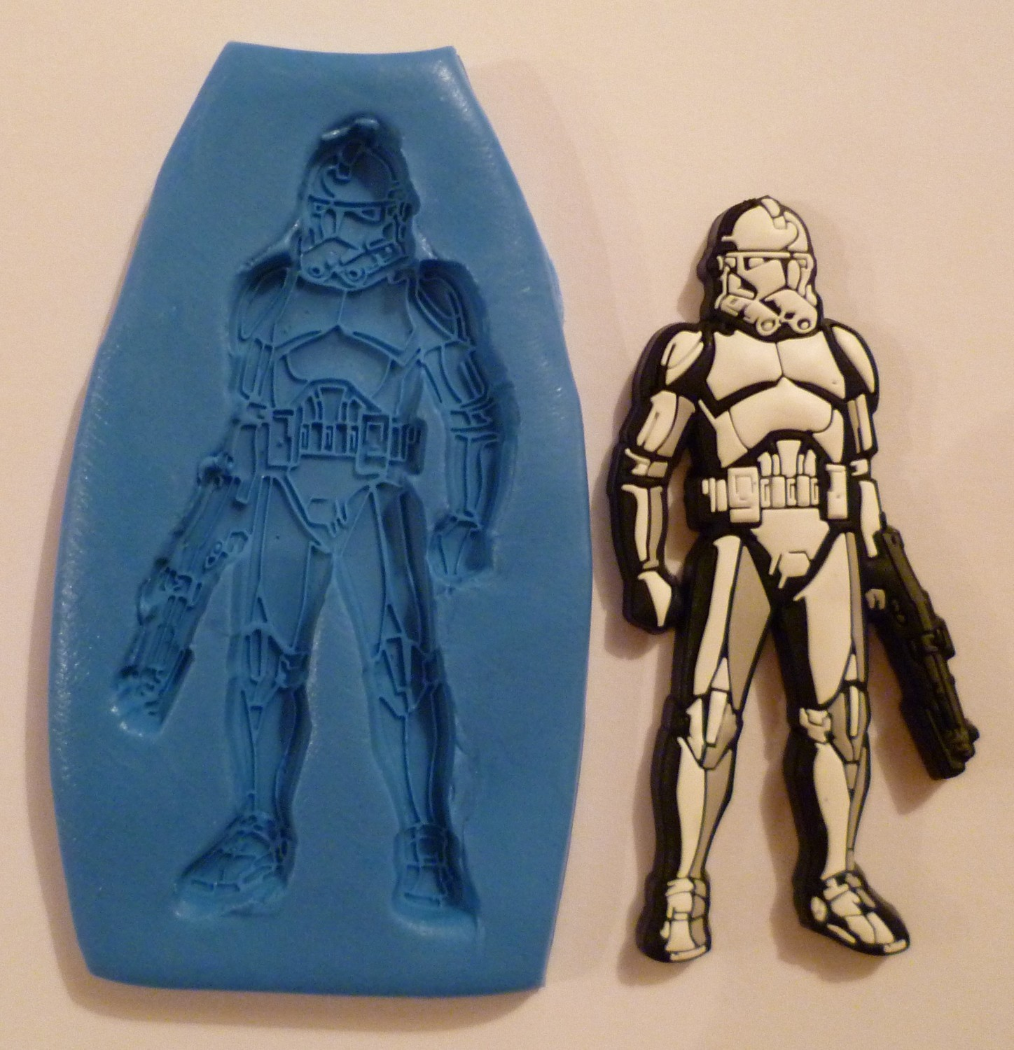 STAR WARS STORM TROOPER SILICONE MOULD