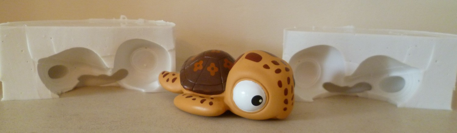 3D DORY TURTLE SILICONE MOULD