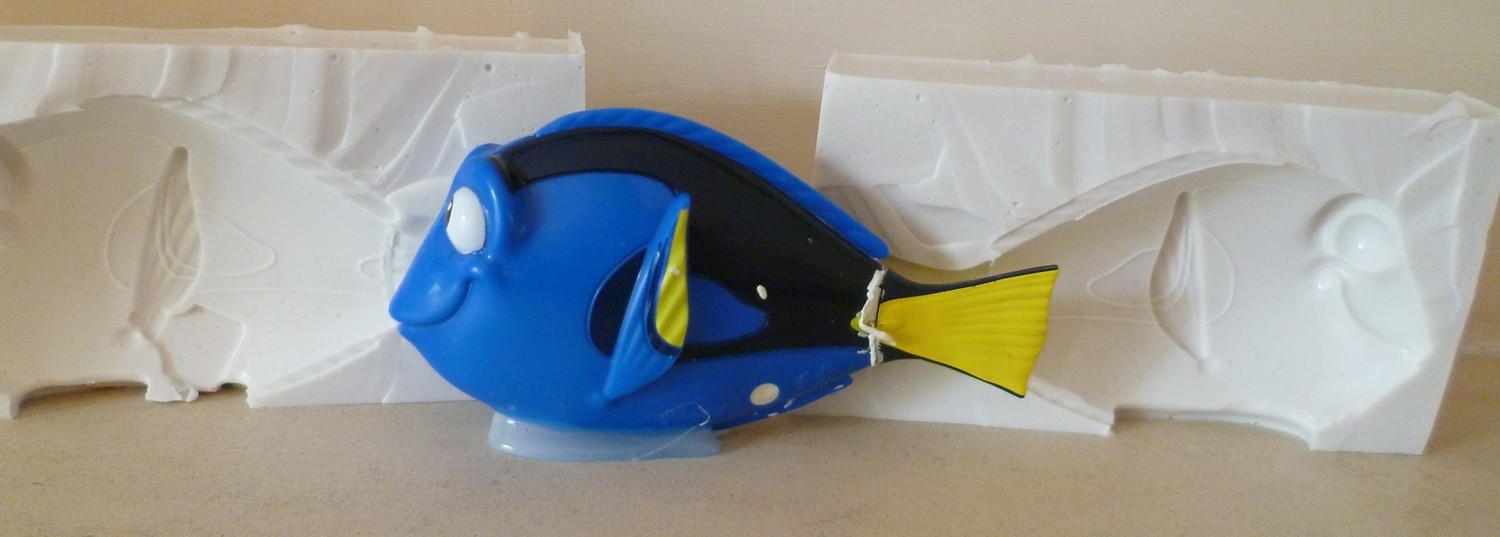 3D DORY SILICONE MOULD
