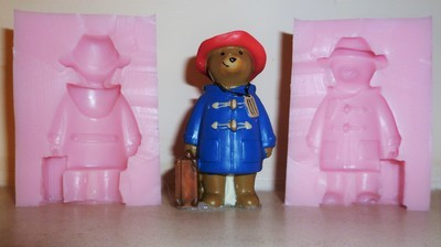 3D PADDINGTON BEAR SILICONE MOULD