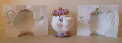 3D MRS POTTS SILICONE MOULD