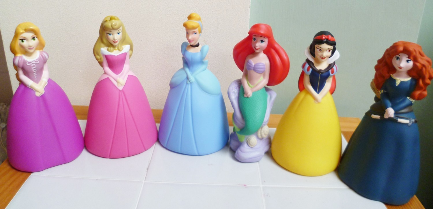 ONE PRINCESS 3D SILICONE MOULD