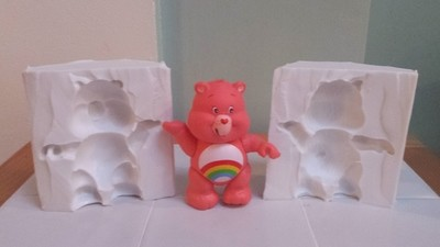 CARE BEAR 3D SILICONE MOULD