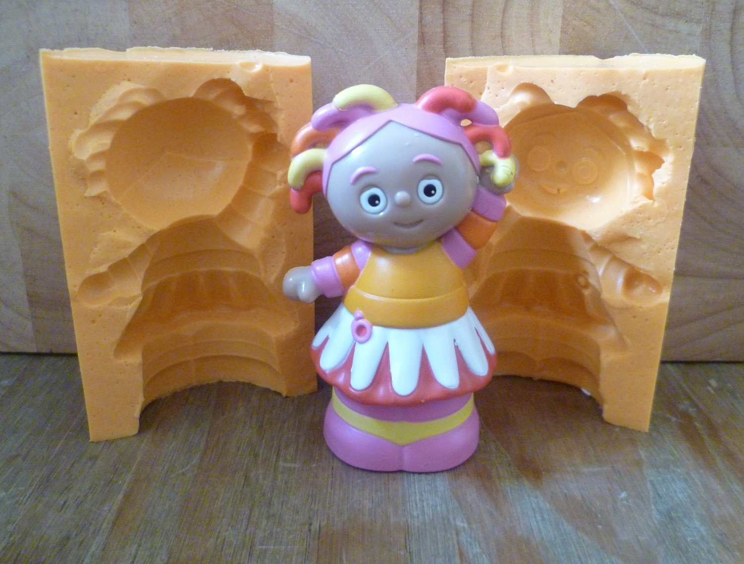 3D UPSY DAISY SILICONE MOULD