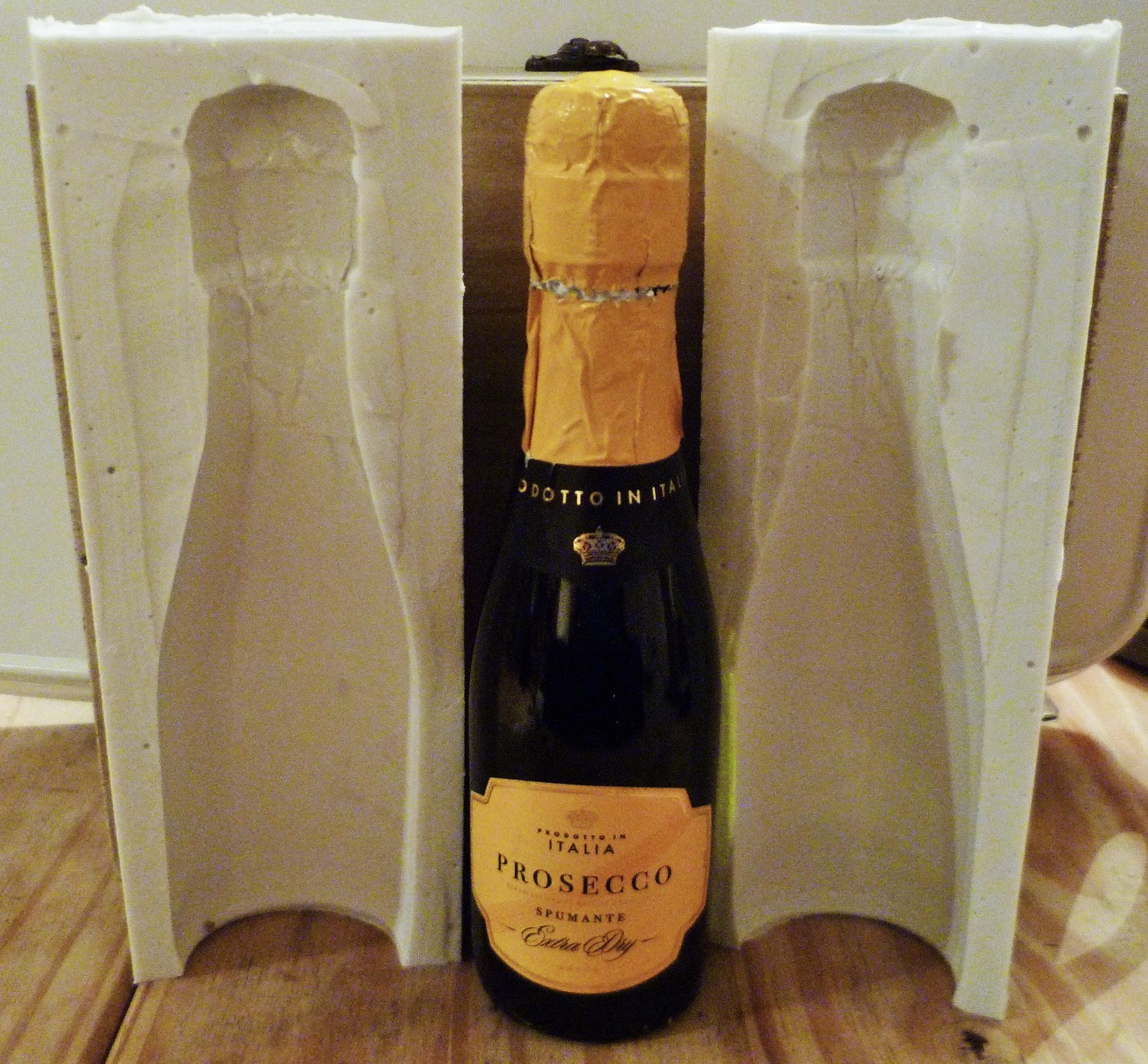 SMALL 35cl CHAMPAGNE BOTTLE 3D SILICONE MOULD