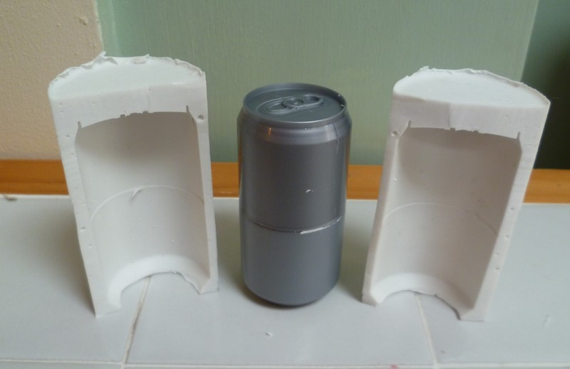 SMALL CAN 3D SILICONE MOULD