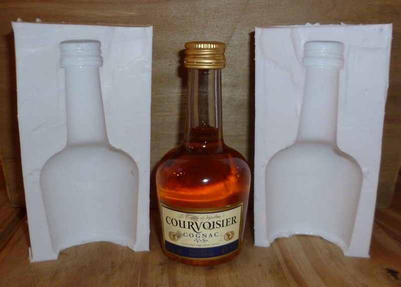 SMALL BRANDY BOTTLE 3D SILICONE MOULD