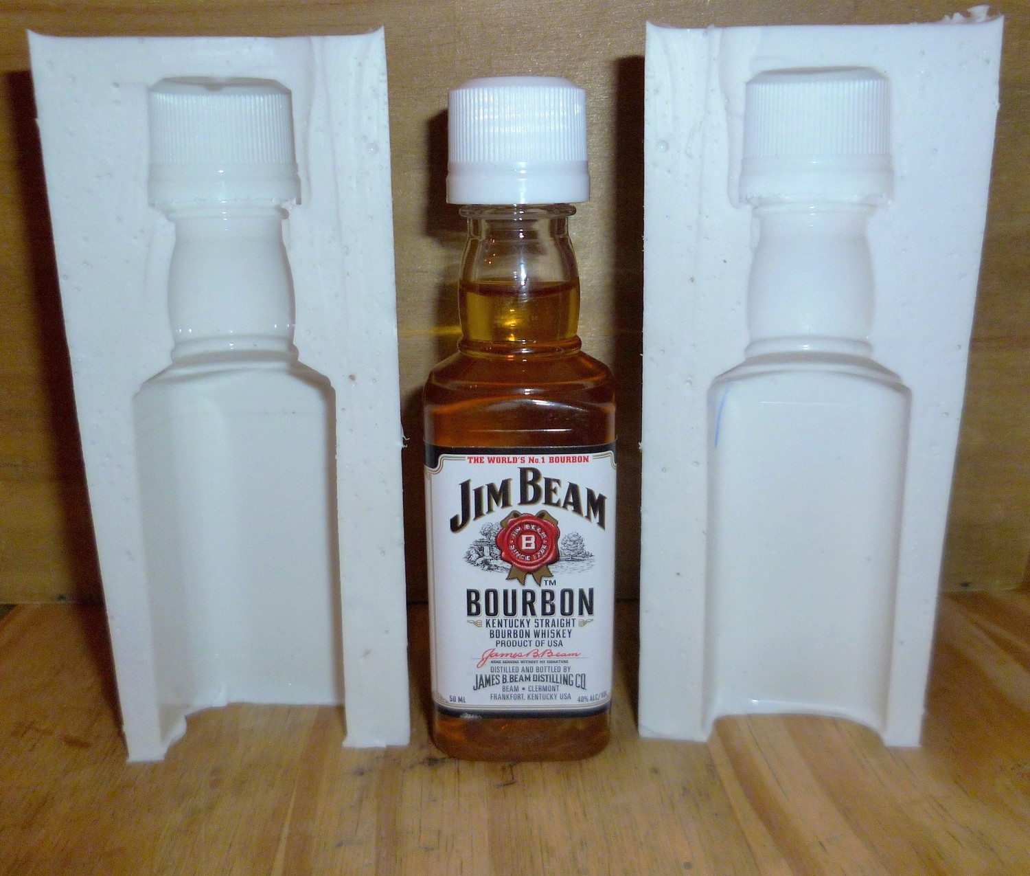 MINIATURE 3D JIM BEAM BOTTLE SILICONE MOULD