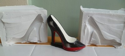 SMALL POINTED TOE HIGH HEELED SHOE SILICONE MOULD