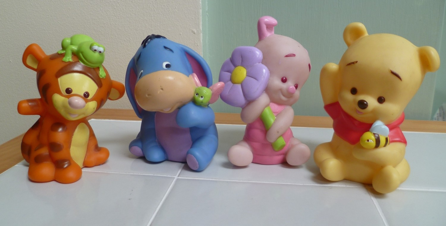 ONE 3D BABY WINNIE THE POOH CHARACTER SILICONE MOULD