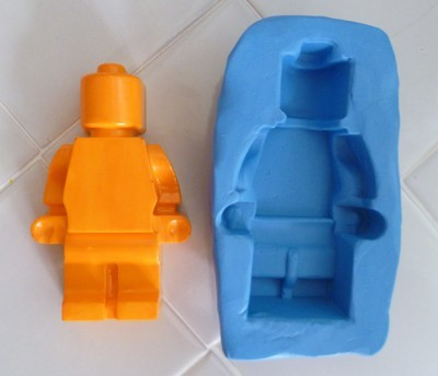 3D LARGE LEGO MAN SILICONE MOULD