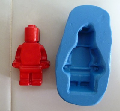 3D SMALL LEGO MAN SILICONE MOULD