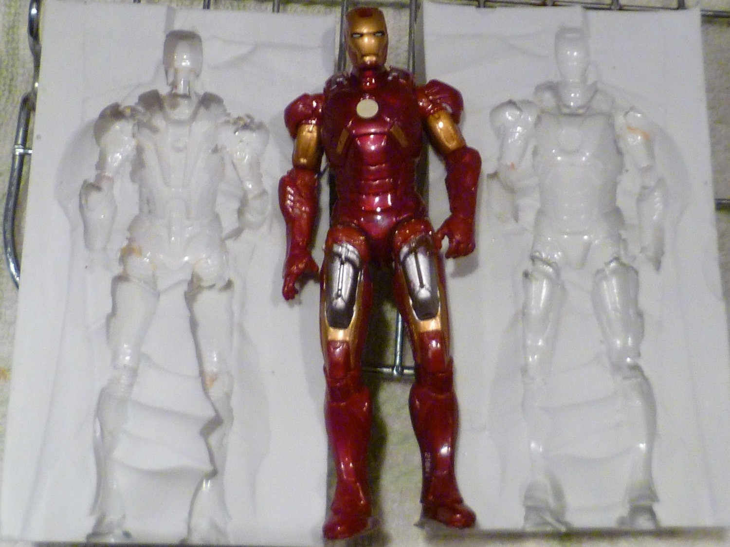 3D IRONMAN SILICONE MOULD