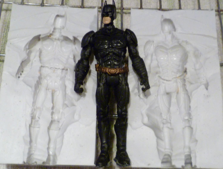 3D BATMAN SILICONE MOULD