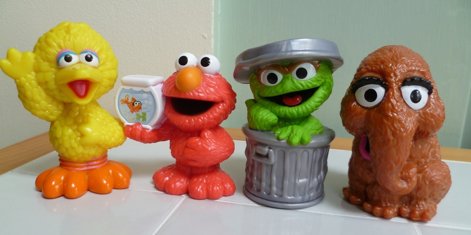 ONE 3D SESAME STREET CHARACTER SILICONE MOULD