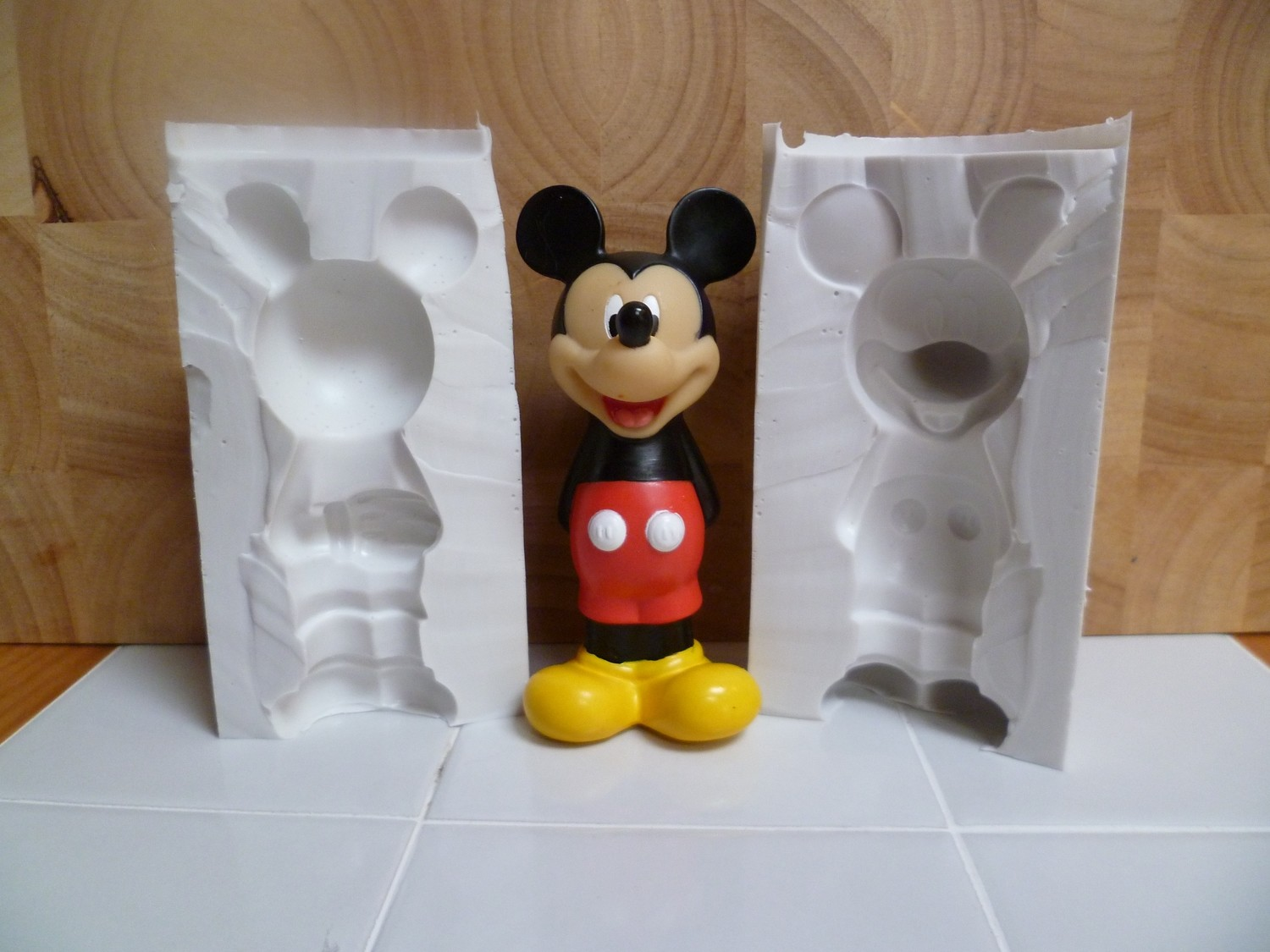 3D MICKEY MOUSE SILICONE MOULD