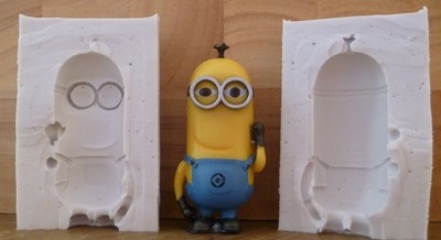 3D TIM THE MINION SILICONE MOULD