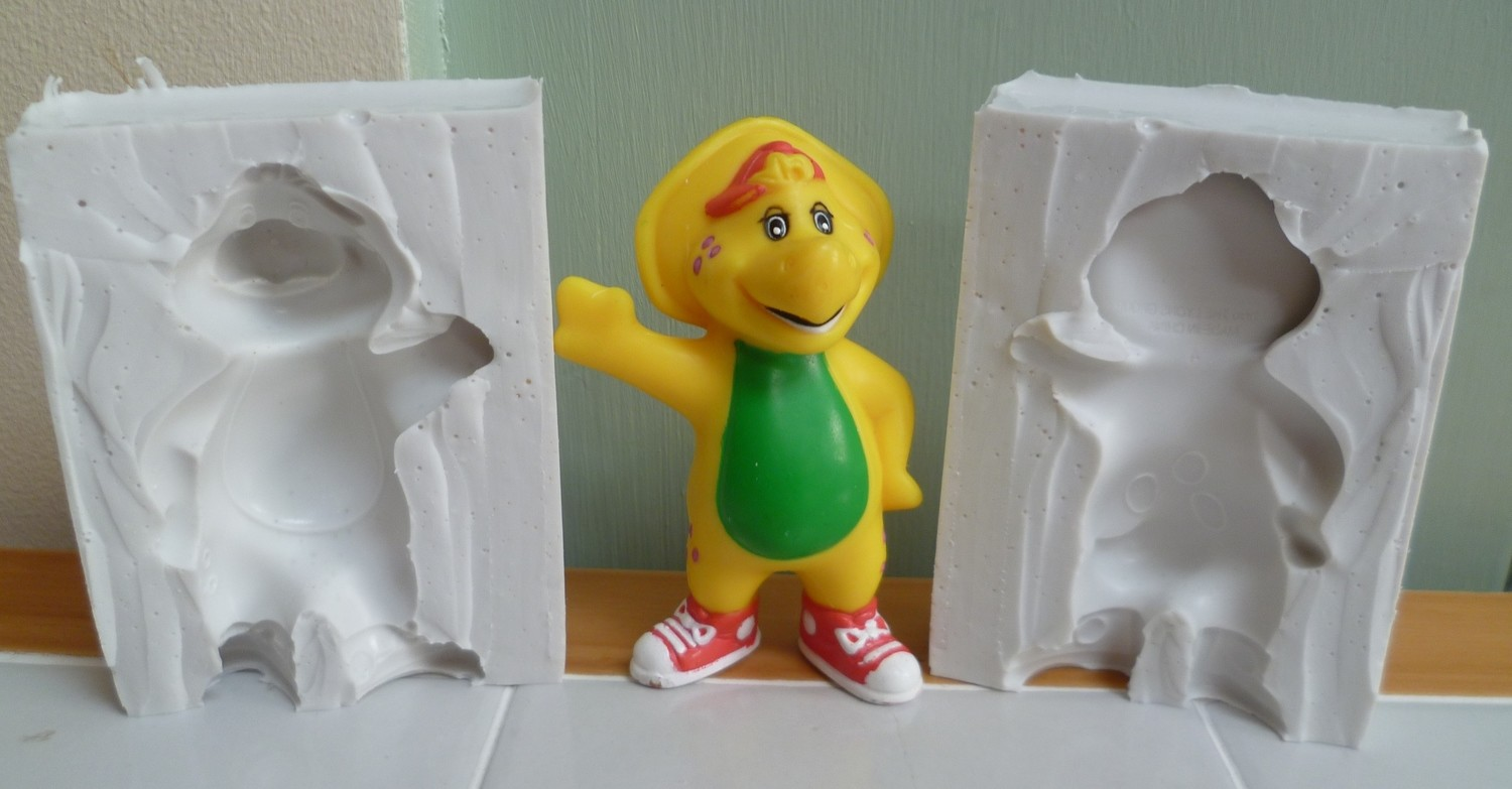 3D BJ FROM BARNEY SILICONE MOULD