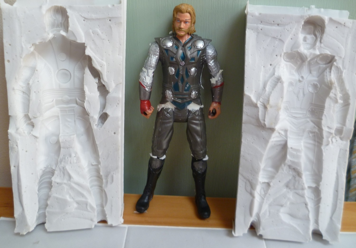 3D THOR SILICONE MOULD