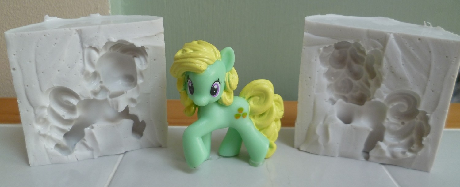 3D MY LITTLE PONY SILICONE MOULD