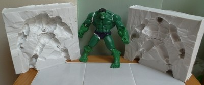 3D INCREDIBLE HULK SILICONE MOULD