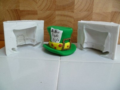 MAD HATTER HAT 3D SILICONE MOULD