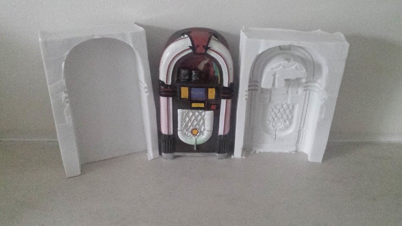 3D JUKEBOX SILICONE MOULD