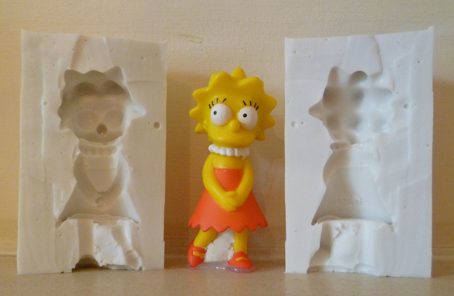 3D LISA SIMPSON SILICONE MOULD