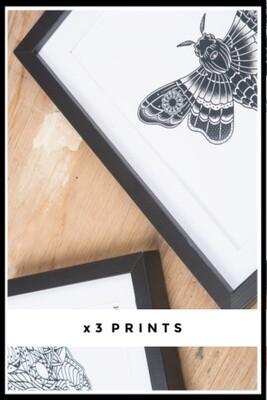 X3 HOM Print Bundle Deal