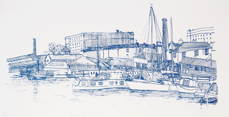 Bristol Boats in Blue
