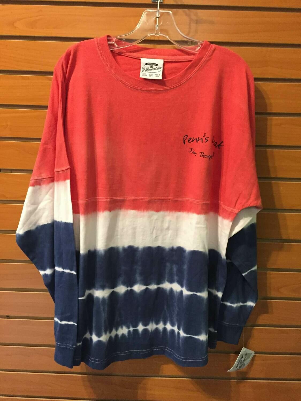 Penn's Peak Long Sleeve Tie Dye Jersey