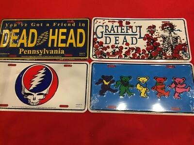 Grateful Dead License Plate
