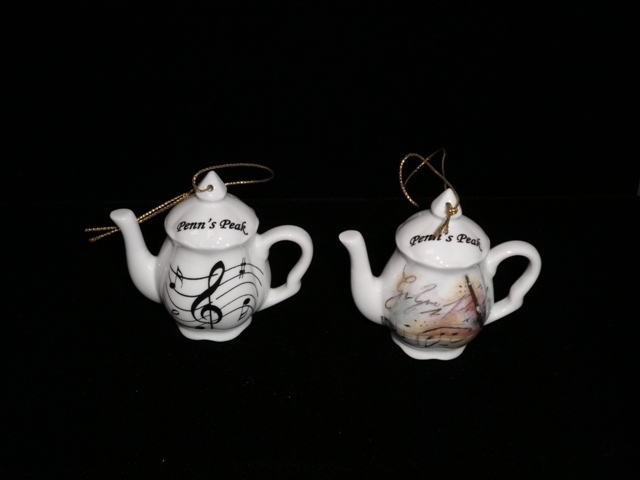 Penn's Peak Teapot Ornament
