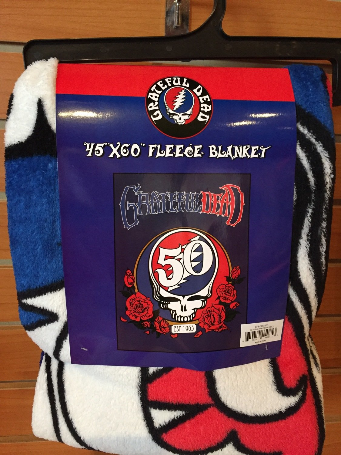 Grateful Dead Fleece Blanket