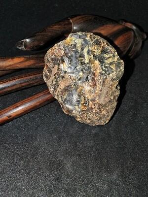 "Amber (Black Baltic) (1 Piece) ""The Transmutation Stone"" - Size 2 50-60mm"