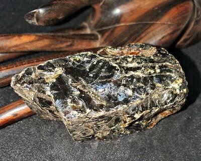 "Amber (Black Baltic) (1 Piece) ""The Transmutation Stone"" - Size 3 60-70mm"