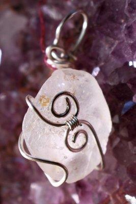 Rainbow Aura Quartz Pendant #2 to Amplify Your Energy and Your Magickal Abilities