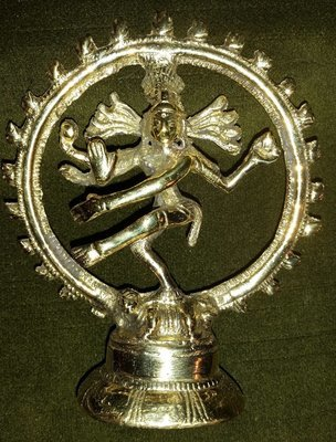 "Dancing Shiva 4"" - Hindu God and Creation and Transformation"