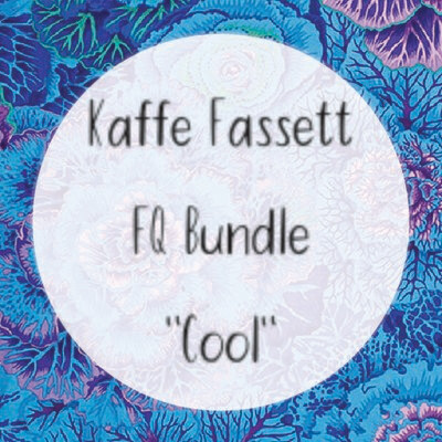 Kaffe Fassett Fat Quarter Bundle - Cool