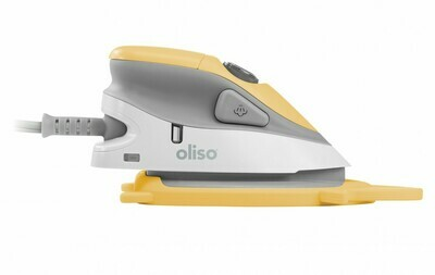 Oliso Mini Iron with Trivet - Yellow