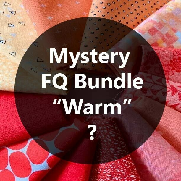 Mystery Fat Quarter Bundle - Warm