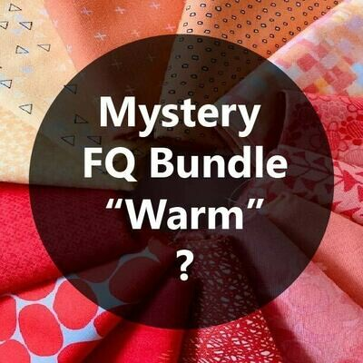 Mystery Fat Quarter Bundle - Warm