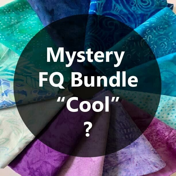 Mystery Fat Quarter Bundle - Cool