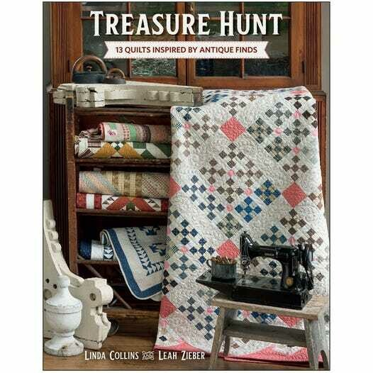 Treasure Hunt Quilt Book Linda Collins and Leah Zieber