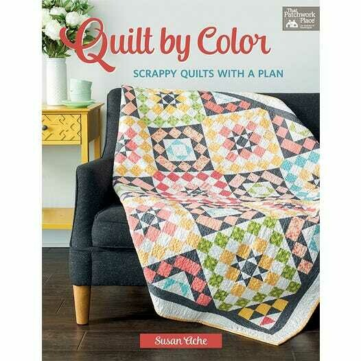 Quilt By Color Quilt Book by Susan Ache