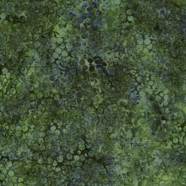 Berries Pineneedle - Island Batik