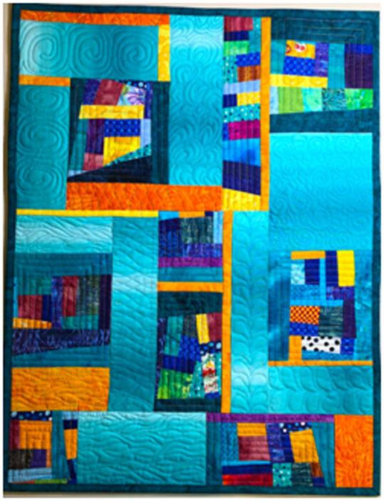 Improv Art Quilt