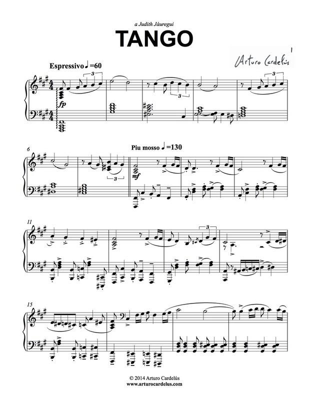 Tango (Piano Version)