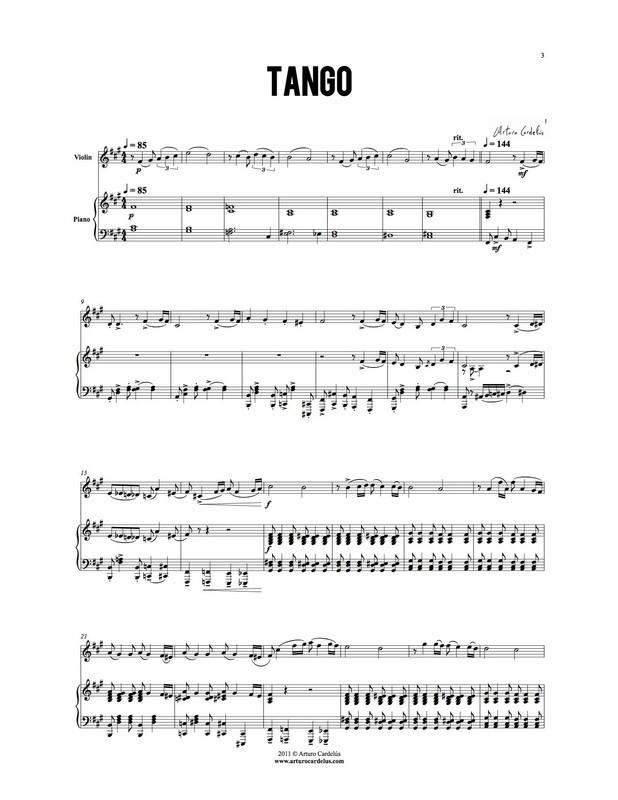 Tango (Violin Version)